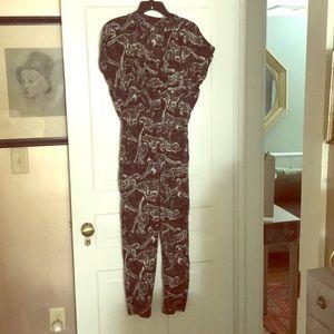 H&M jag jumpsuit